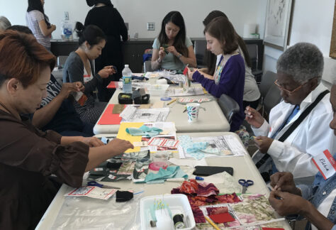 Memories of Migration: Common Thread — Making a Community Story Quilt