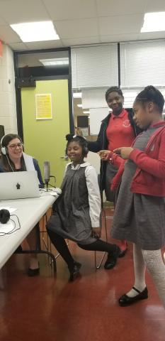 Teen Podcast and Oral History Workshop