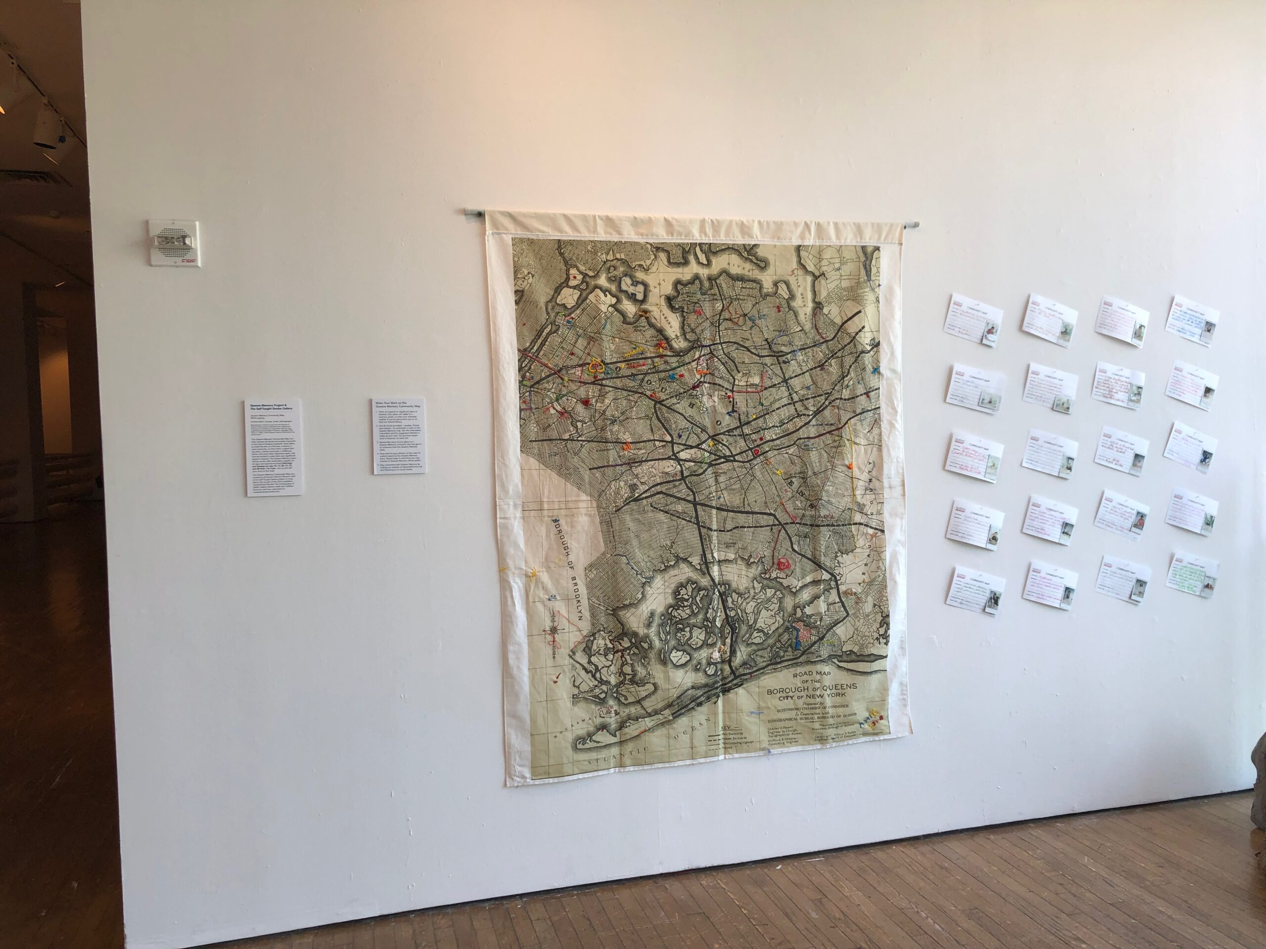 Memories of Migration Exhibit Open Embroidery Days