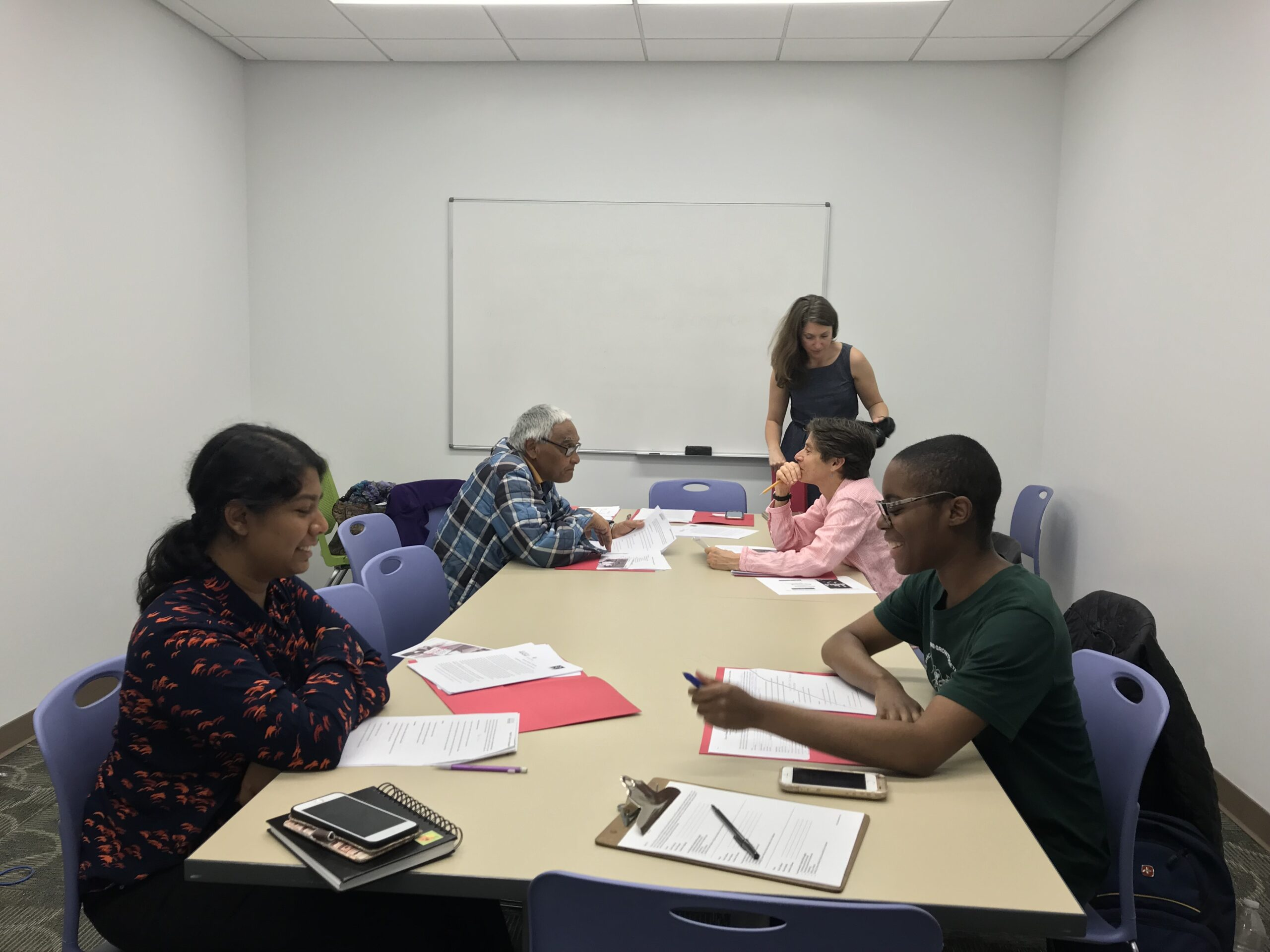 Oral History Workshop at Queens Central Library
