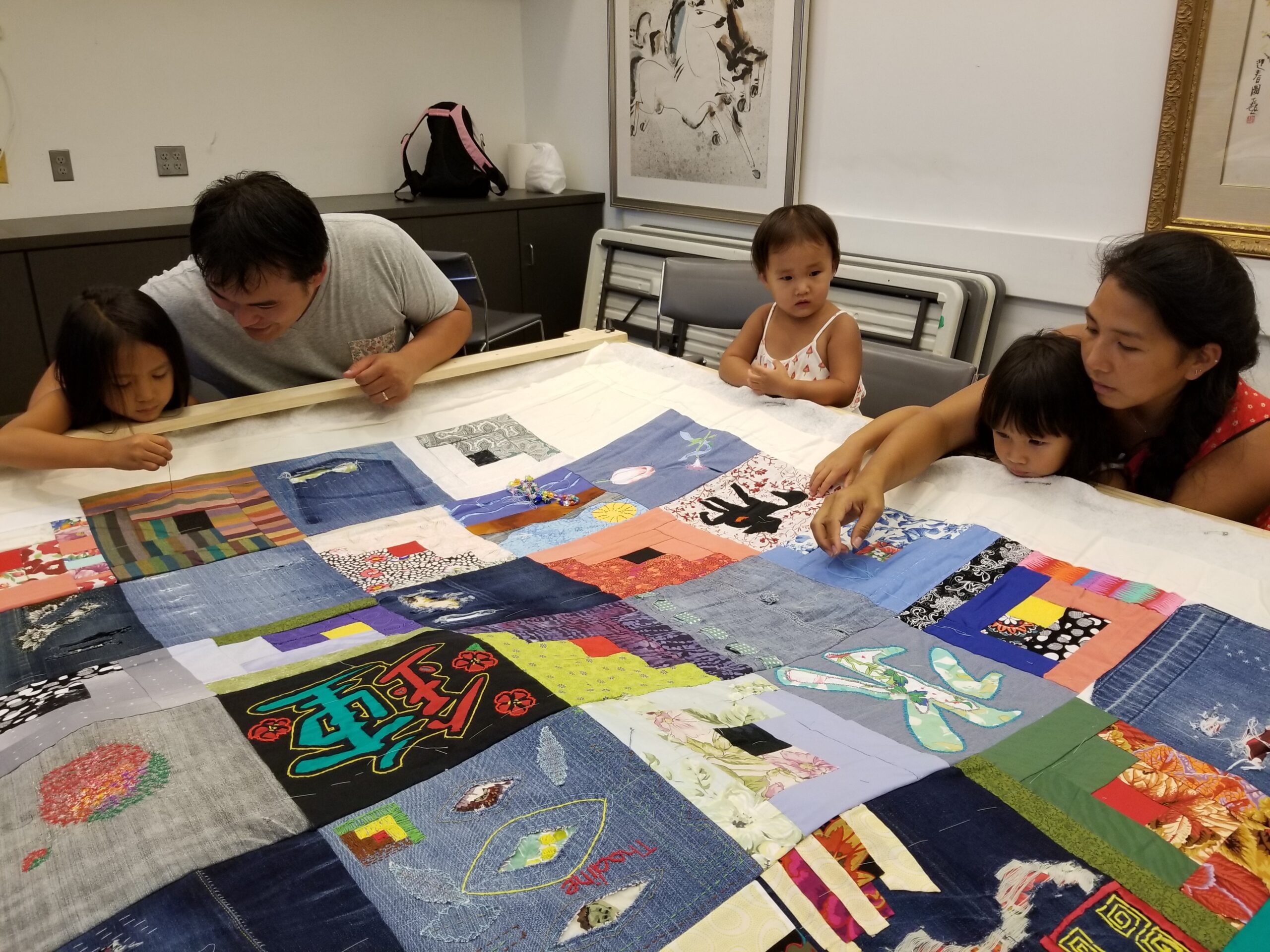 Memories of Migration: Common Thread – Making a Community Story Quilt