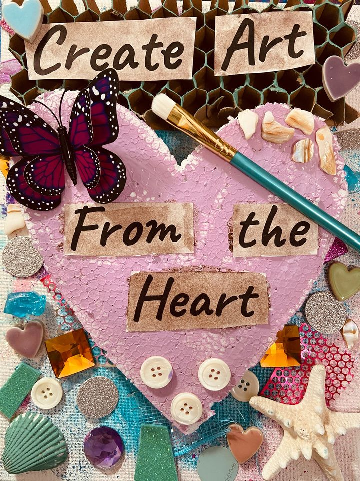 Create Art from the heart