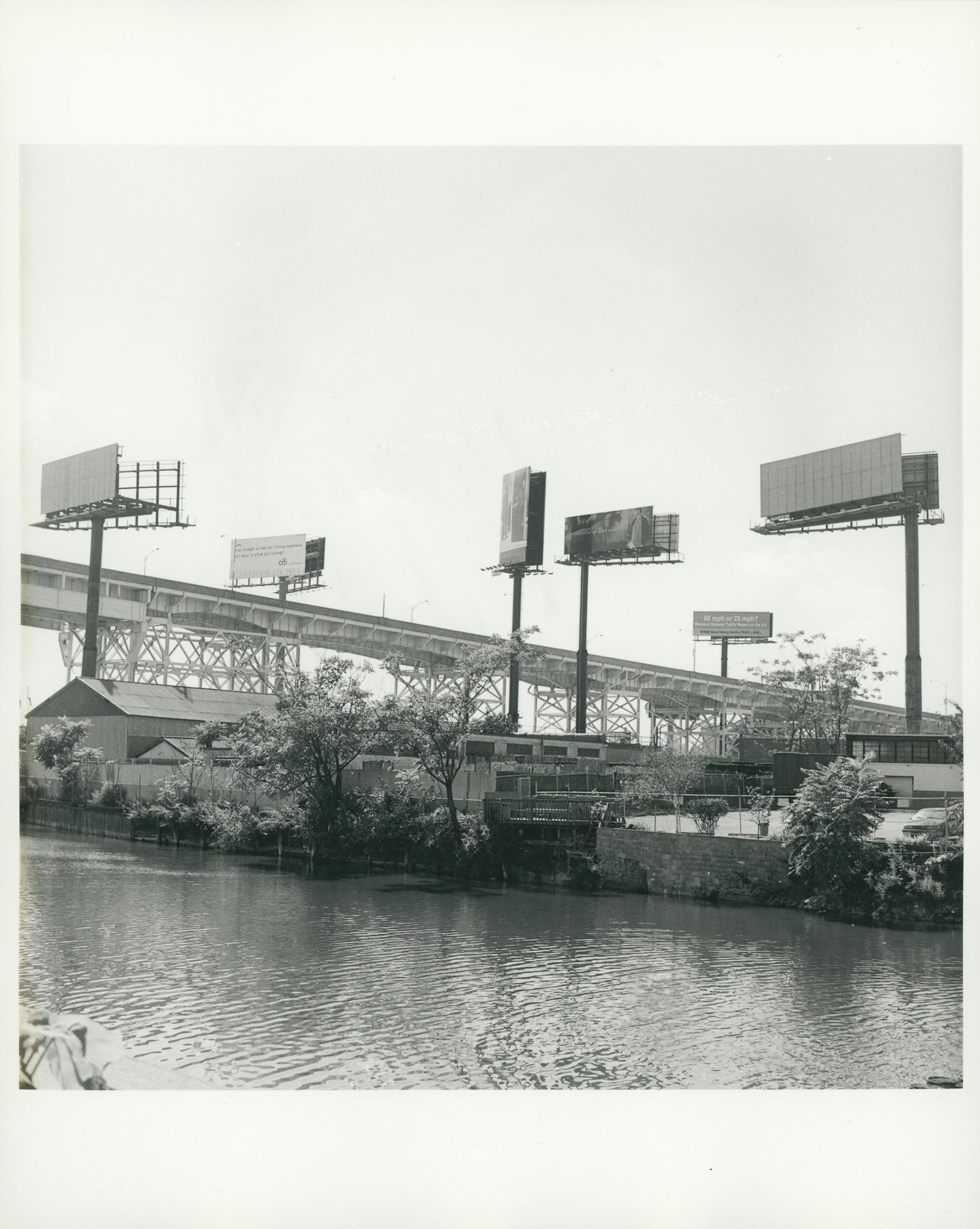 Anders Goldfarb, Dutch Kills looking South from Hunters Point Avenue Bridge, August 2001.