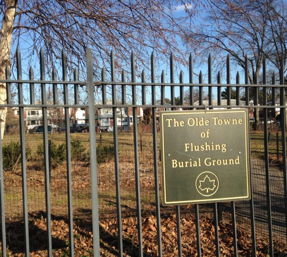 Olde Towne of Flushing Burial Ground